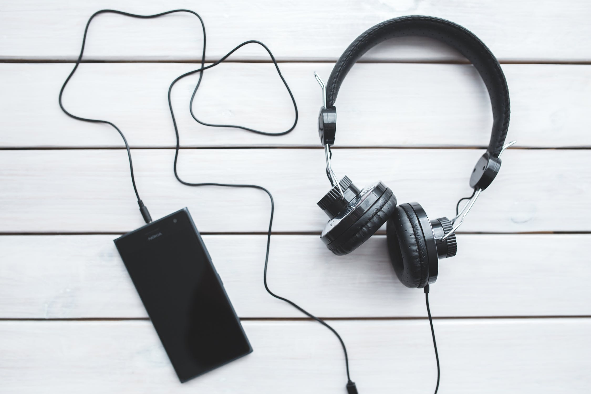 image of headphones