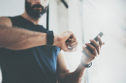 What tech features can you use when working out
