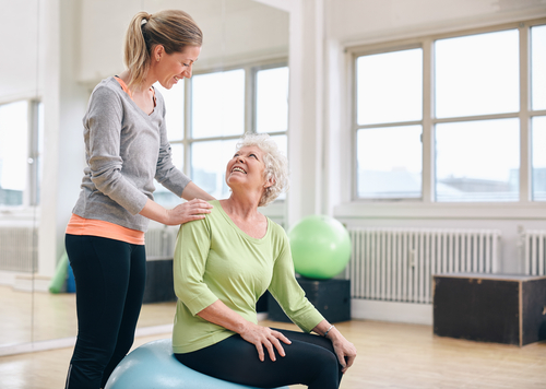 safe personal training for seniors in san diego