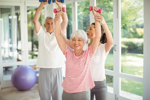 How do seniors start exercising