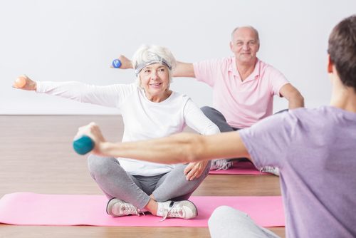 Tips for exercising safely as a senior