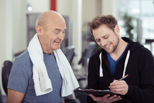 How to get started in a senior fitness program