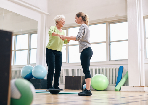 Workout for seniors how to improve strength and balance as you age